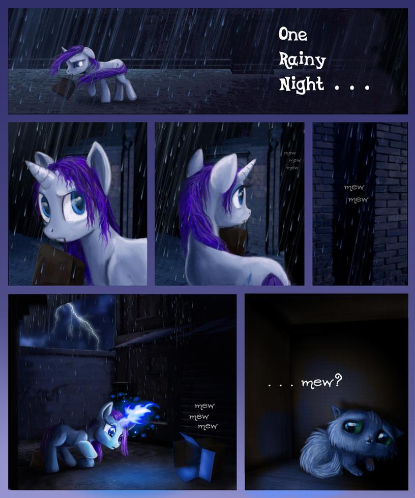 One Rainy Night by Voodoo-Tiki