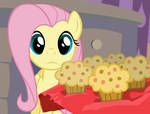 Fluttershy Can't Muffins