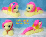 Fluttershy filly beanie-style plushie