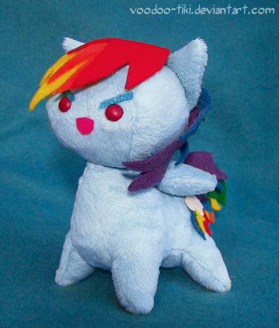 Rainbow Dash baseballhead-beanie by Voodoo-Tiki