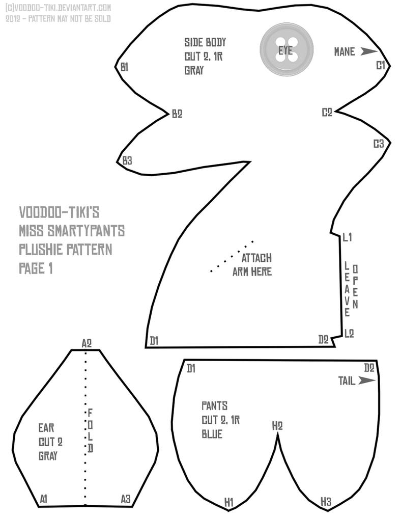 Miss Smartypants Pattern 1 By Voodoo Tiki On Deviantart