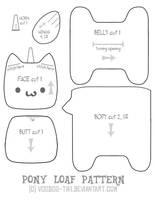 Pony Loaf pattern by Voodoo-Tiki