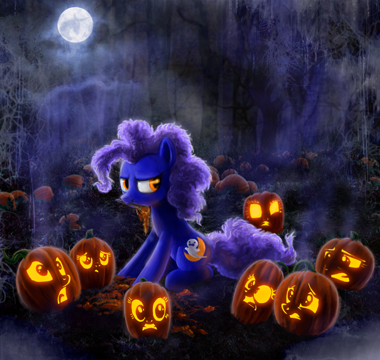 Slaughtering the Pumpkins by Voodoo-Tiki
