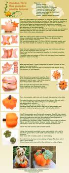 Pumpkin Plushie Tutorial