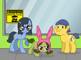Bob's Burgers My Little Pony x-over
