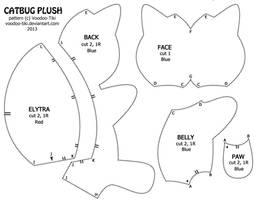 Catbug Plushie Pattern by Voodoo-Tiki