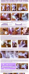 Beanbag Pony Plushie Tutorial - part 2 by Voodoo-Tiki