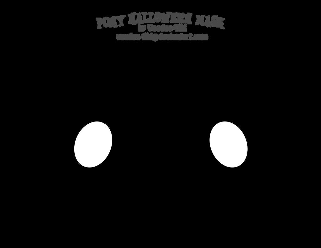Pony Halloween Mask by Voodoo-Tiki on DeviantArt
