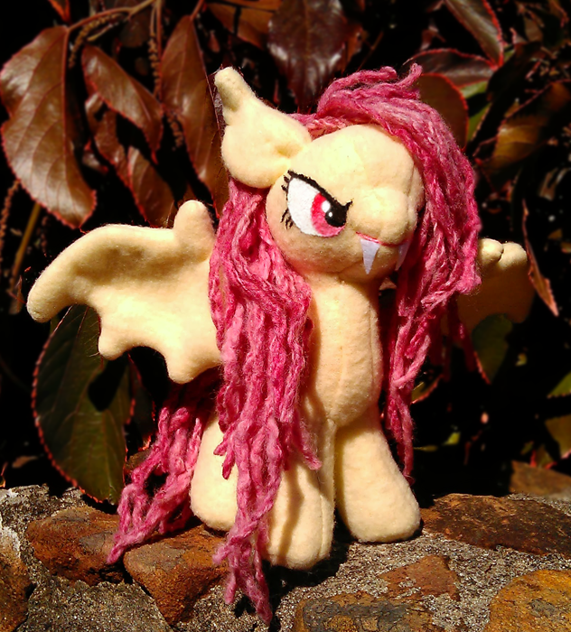 Flutterbat plushie by Voodoo-Tiki