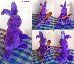 Purple Rabbit Baker by Voodoo-Tiki