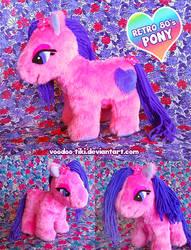 Retro 80's Pony by Voodoo-Tiki