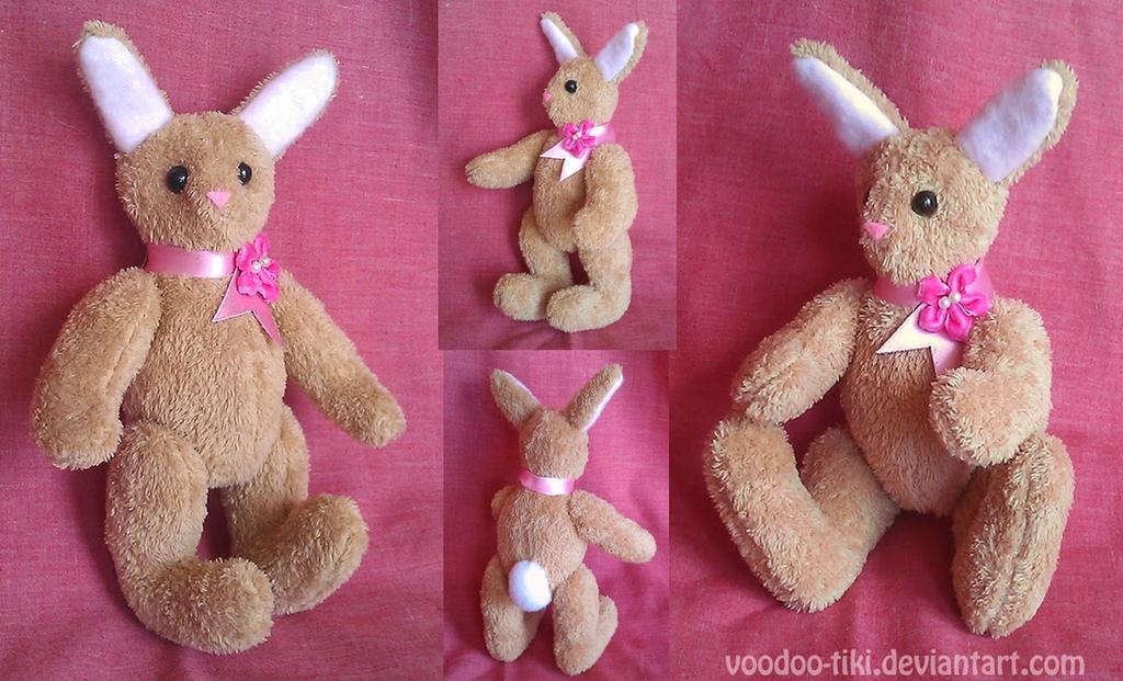 Spring Bunny  - free pattern by Voodoo-Tiki