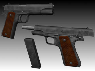 Colt M1911A1 Textured by Sir-Phoenixx