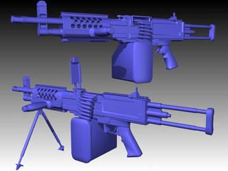 Stoner 96 Light Machinegun