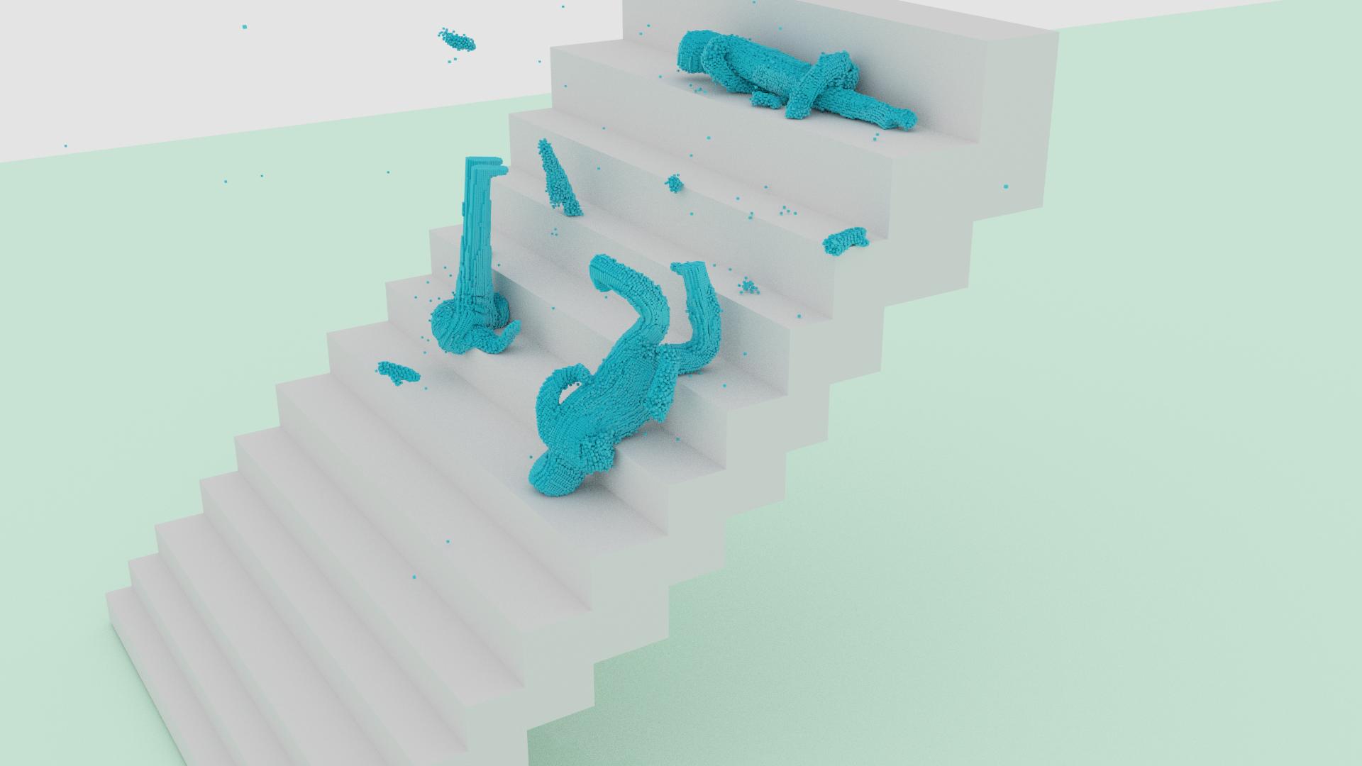 Blender Molecular Simulations [Animation Comp] by Shastro