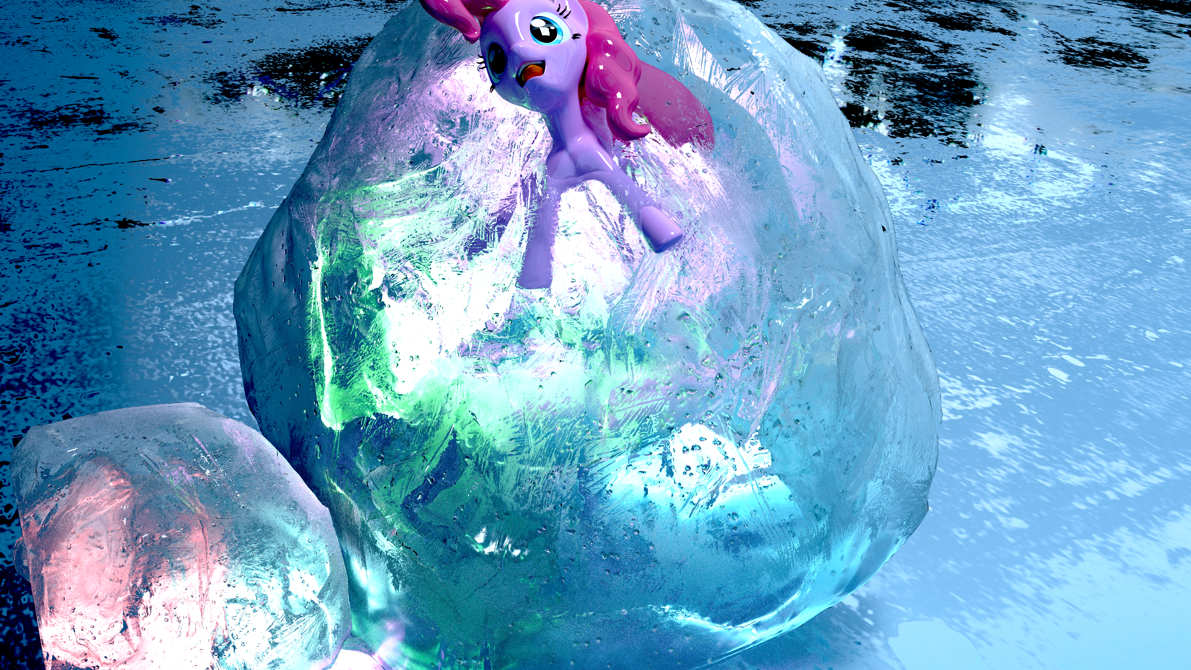 Pinkie IN Ice [Attempt 2] by Shastro