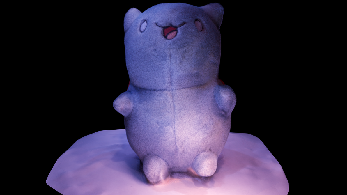 CatBug Plushy- (With Actual Fur) by Shastro