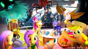 Blender Pony Artists Tribute! Updated!