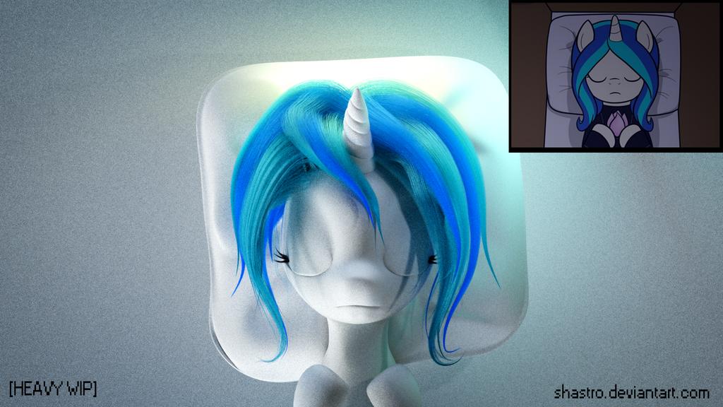 AtN Fan Art [HEAVY WIP] -2 - MOAR HAIR! by Shastro