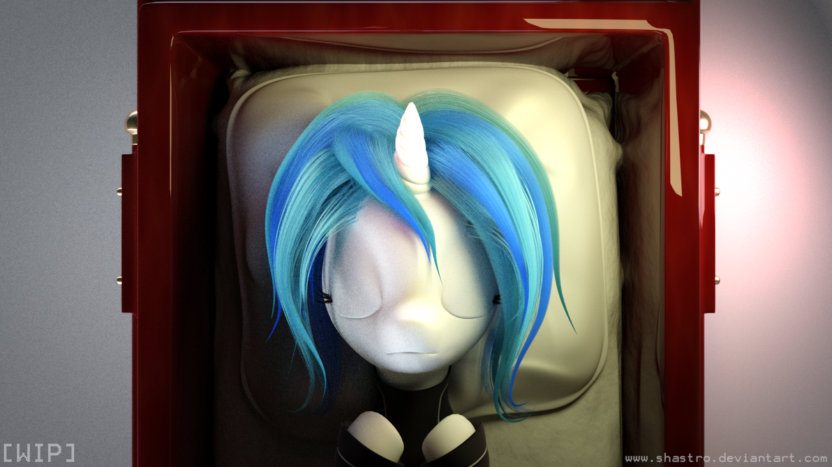AtN Fan Art [WIP - 4]- Coffin Work, Cloth Sim by Shastro