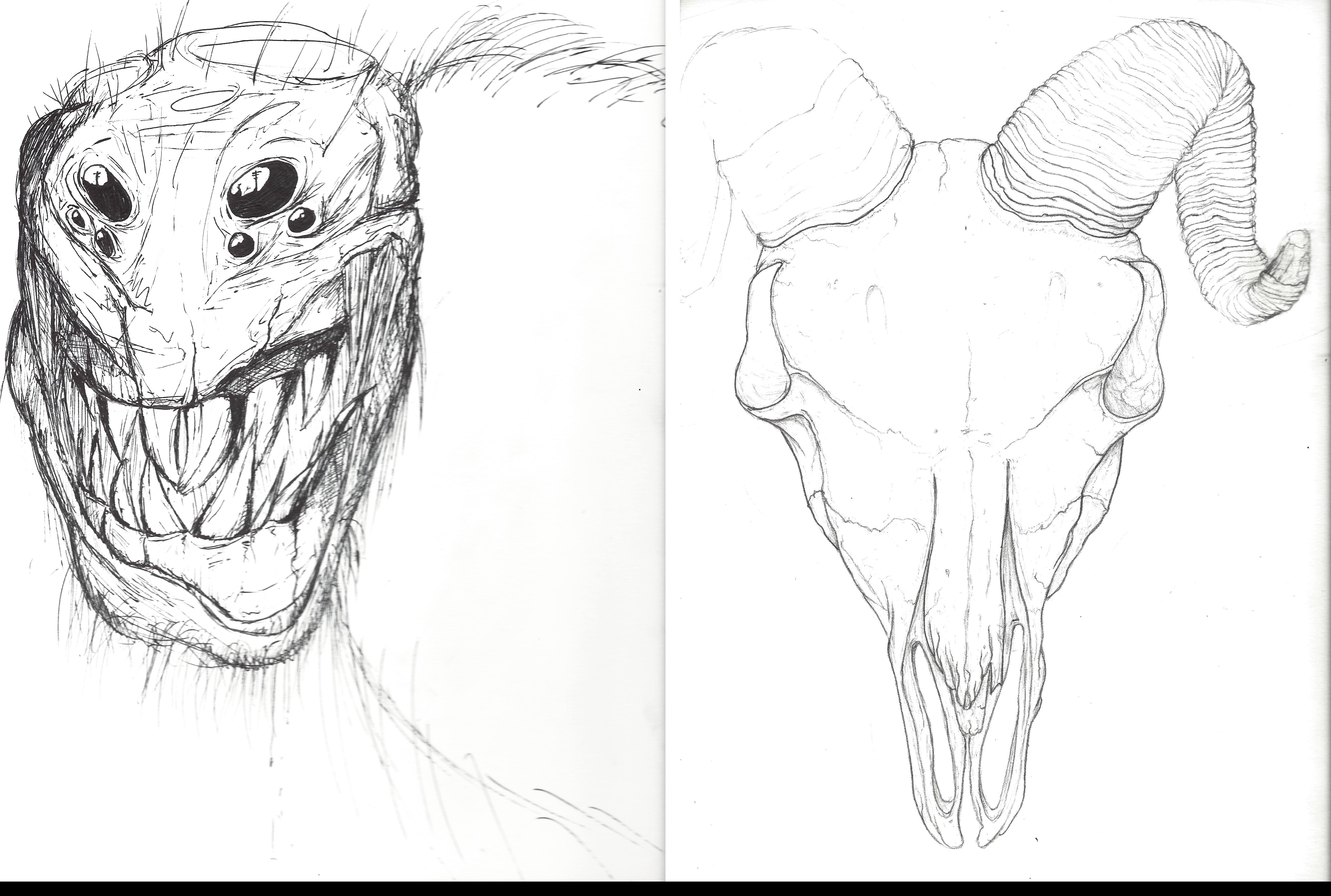 More Random Drawings- Both Unfinished by Shastro