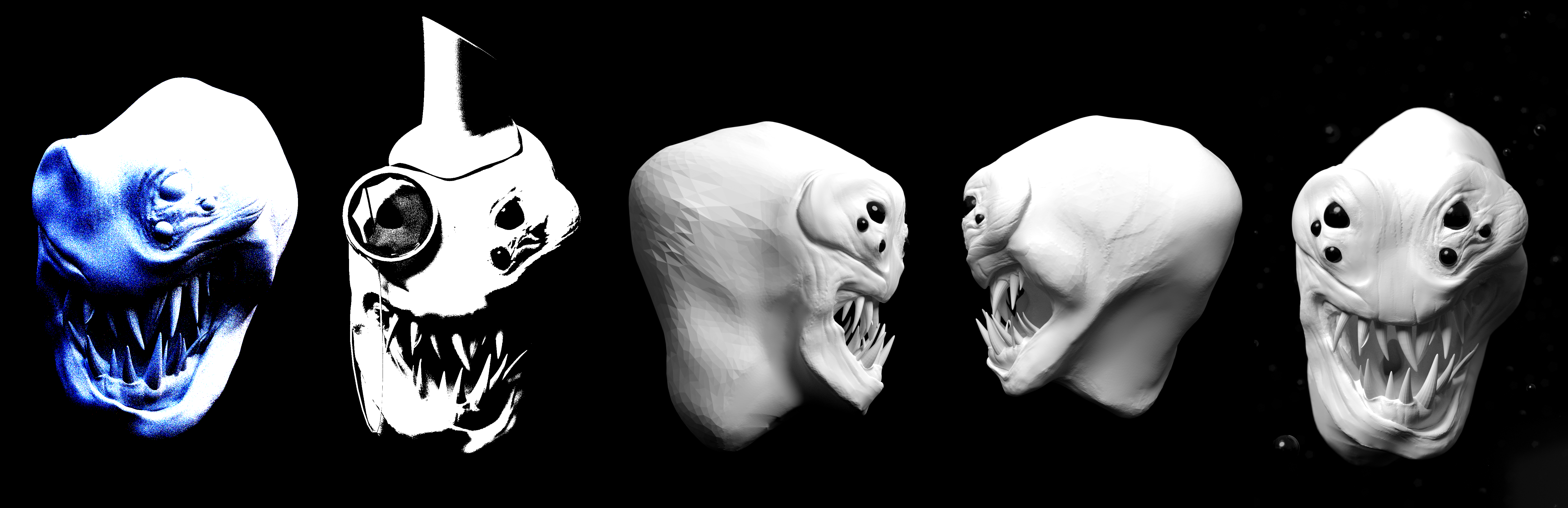 WIP - Creature Sculpt by Shastro