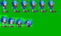 Sonic Mania Boomed WIP by bennascar