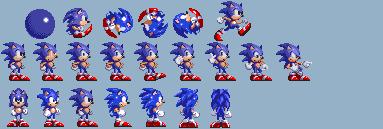 Sonic 1 and 3 Hyrbid WIP by bennascar