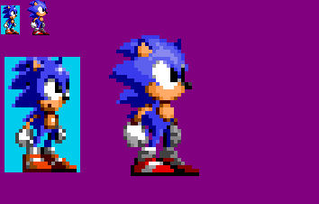 Sonic Triple Trouble 16 Bit Sprite