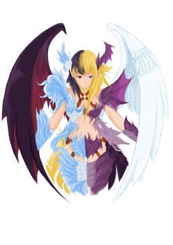 Angel and demon