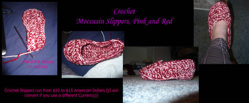 Crochet - Slippers and Shoes by SexxiVexxi