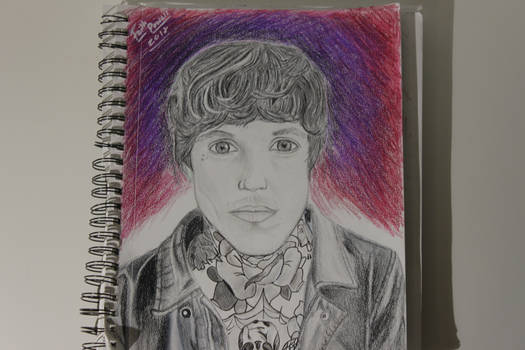 My Drawing of Oliver Sykes from BMTH