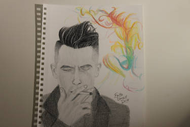 My Drawing of Brendon Urie by WolfzArt13