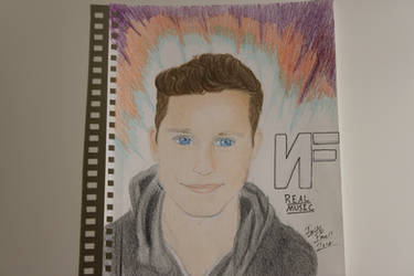 My Drawing of NF by WolfzArt13