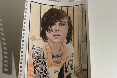 My Drawing of Kellin Quinn from SWS by WolfzArt13