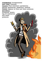 P.u.l.p Heroes: Pyromaniac
