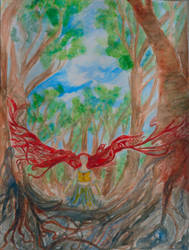 Spirit of the Wood II by Laylana