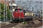 Entry of a Steam Train
