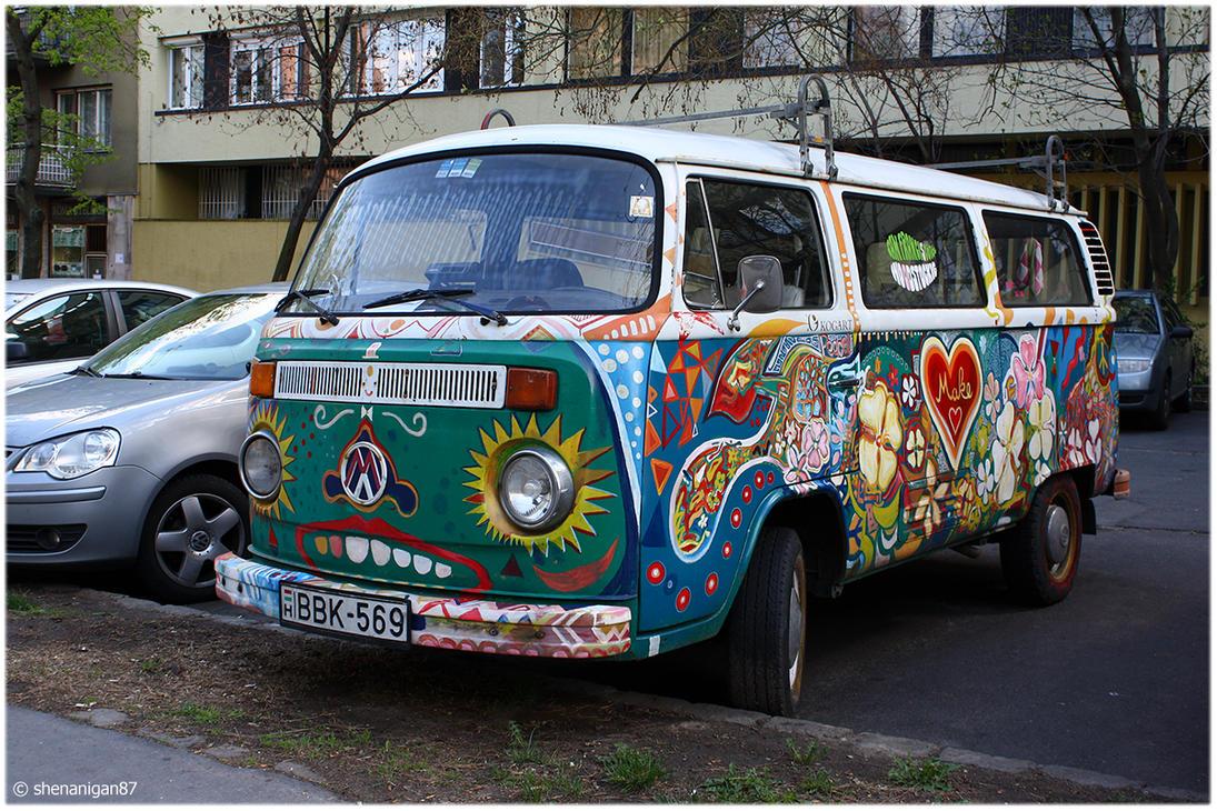 Hippie Bus By Shenanigan87 On DeviantArt