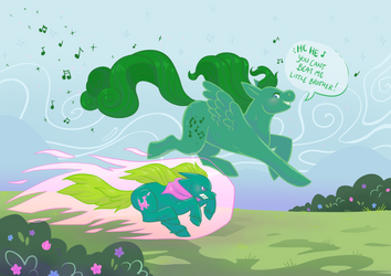 Gonna win!! by Pink-Myotis