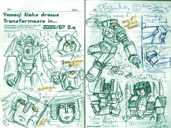 Transformer Art Dump by Pink-Myotis