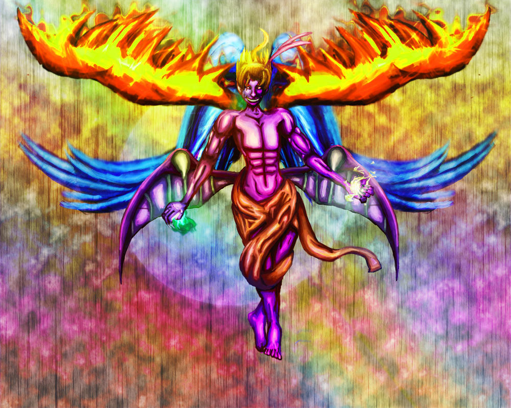 Kefka Palazzo, God of Madness by devilmaypout on DeviantArt