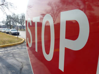 Stop Sign by awcook333