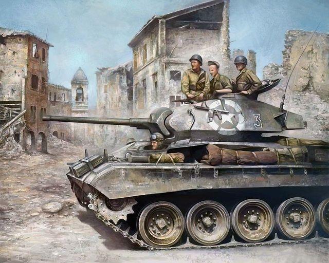 World War II Art Ww2_tank_by_chelkar-d41140g