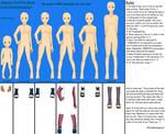 Sakura Outfit Reference Base