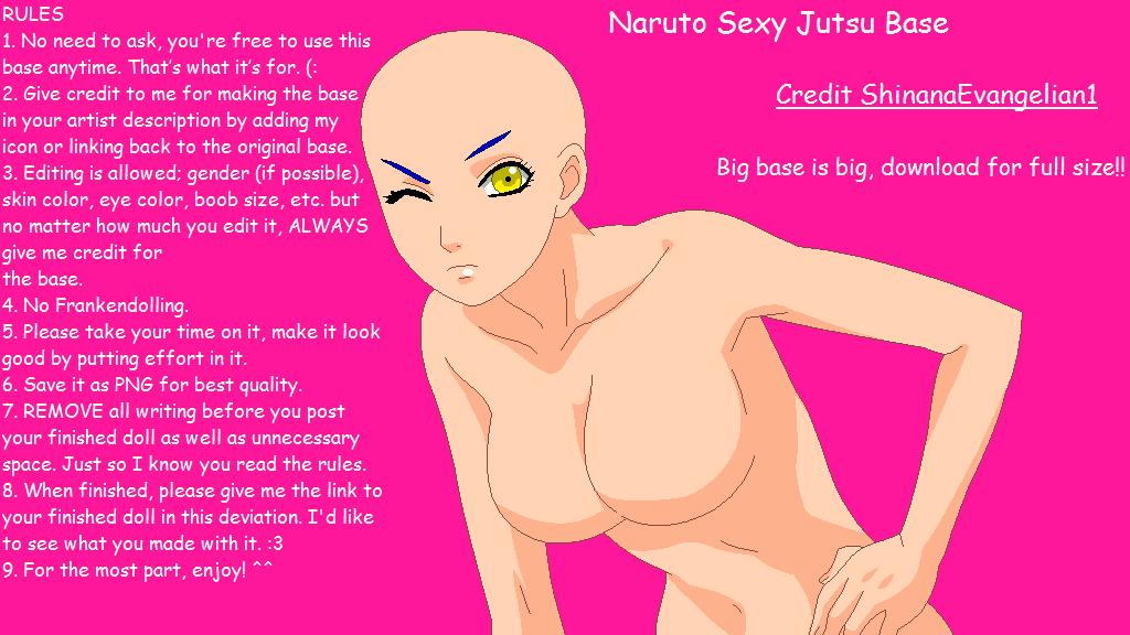 Naruto sexy jutsu uncut