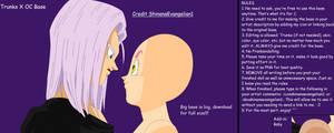 Trunks X OC Base by ShinanaEvangelian1 by ShinanaEvangelian1
