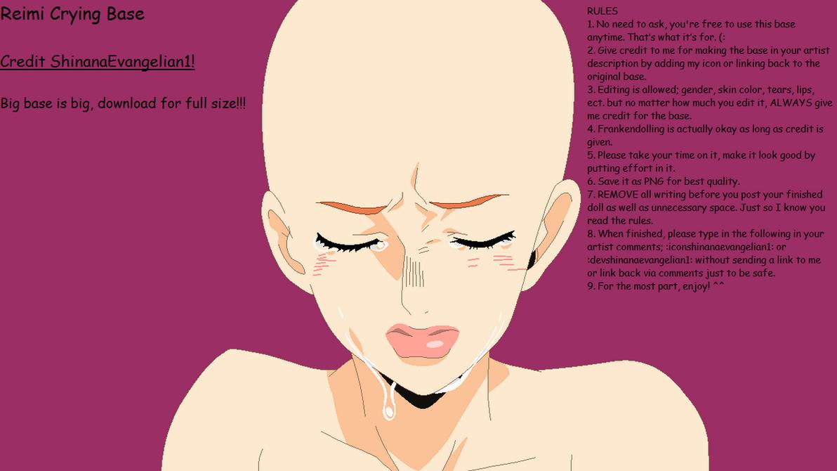 Reimi Crying Base by ShinanaEvangelian1