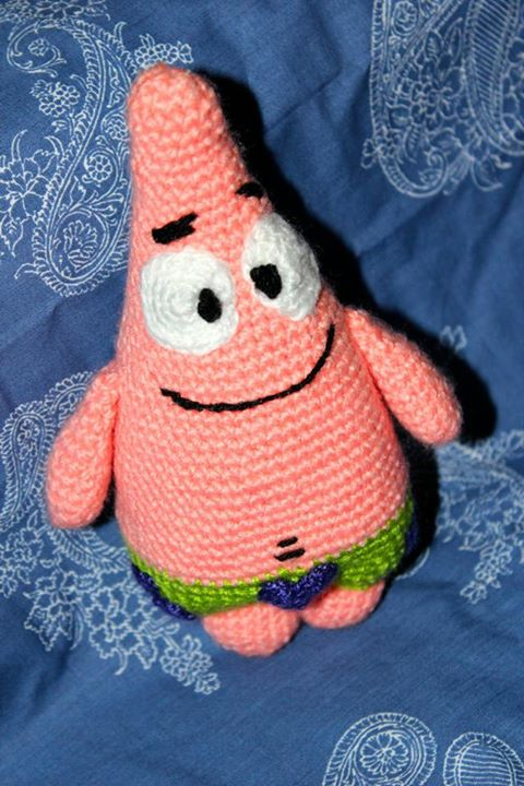 Free Crochet Pattern Patrick Star : amigurumi Patrick Star crochet by wheredidmycrochetgo on ...