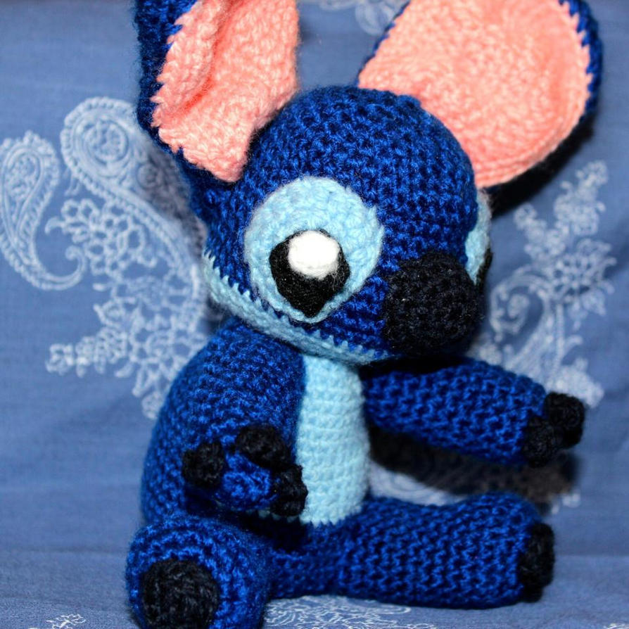 Stitch Amigurumi from Lilo and Stitch Disney by ...